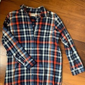 Long sleeve flannel dress By Universal Thread